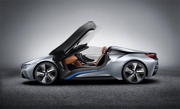 The stunning looking BMW i8 Concept Spyder - A vision of the Future. 5