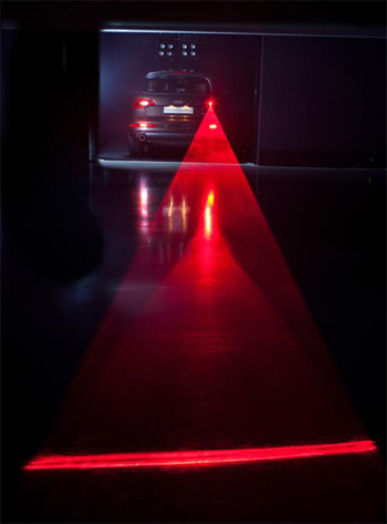 Lasers, Wipers and Swarms shed light on the future of Audi. 4