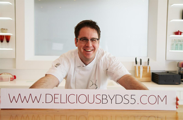 BBC MasterChef 2011 winner and Citroen create Delicious by DS5 for charity. 3