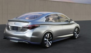 Infinit LE Concept, a vision of zero emission luxury is revealed in New York. 5