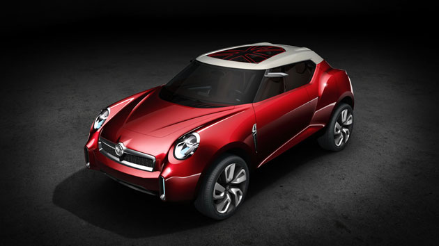 MG has scooped a major design award with its stunning MG Icon concept car.