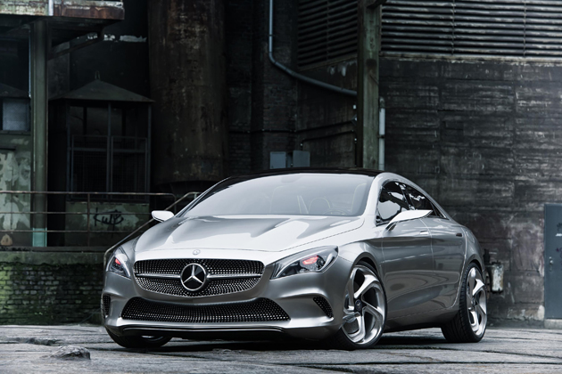 Mercedes Unveil their beautiful Concept Style Coupe: The Style Rebel