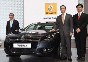 Renault unveils Talisman Luxury Saloon at Beijing Motor Show. 4