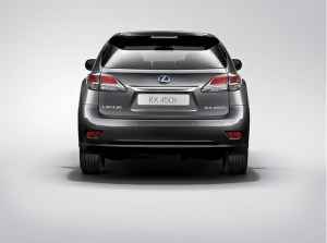 The Lexus RX 450h sports a sharper style and and new F Sport Model.