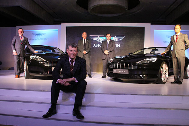 Aston Martin Announces New Dealership in New Delhi.