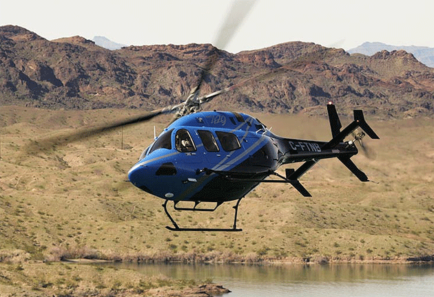 Bell Helicopter Affirms Presence in Russia at HELIRUSSIA 2012.