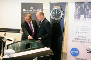 Blancpain realised an exceptional auction for the Monaco Association Against Muscular Dystrophy.