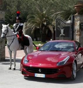 Ferrari and the Mounter Carabinieri Regiment will be supporting the Diamond Jubilee Celebration.