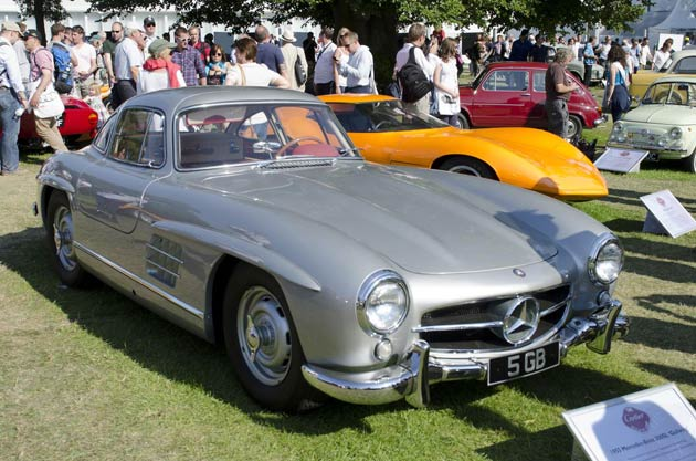 The 60 year evolution of the legendary Mercedes-Benz SL to be presented at the 2012 Festival of Speed.
