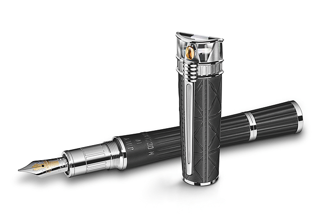 Montblanc is paying tribute to the freedom of America by releasing the Montblanc Statue of Liberty Artisan Edition writing instrument.