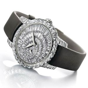 Girard-Perregaux Cat's Eye Jewelled watch a union between Horology and Jewellery.
