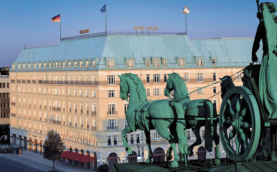 the Iconic Hotel Adlon Kempinski in Berlin, Germany.
