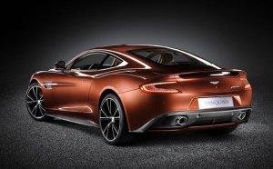 Aston Martin unveils a stunning new luxury sports car – the Aston Martin Vanquish.