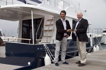 Beneteau an official supplier to the organising committee for London 2012 delivers a fleet of powerboats.