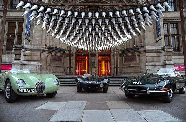 Jaguar celebrates its role in Great British Design at the Victoria and Albert Museum.