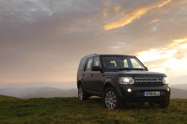 Land Rover wins awards for Range Rover Evoque and Land Rover Discovery 4.