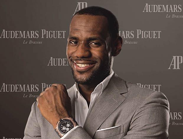 Audemars Piguet brand Ambassador LeBron James wins his first NBA championship.