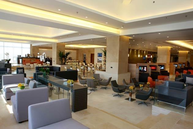 Royal Jordanian's Crown Class lounge at its Amman hub 1