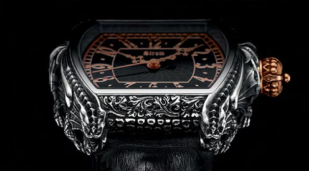 The Daniel Strom Draco Watch.. fantasy and wonder.