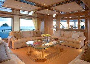 Sunrise Super-Yacht. Picture (C) Burgess Yachts