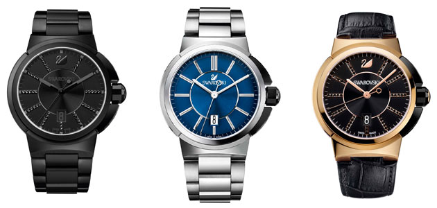 The Swarovski Piazza Grande watch collection - Incorporating urban forms of contemporary architecture.