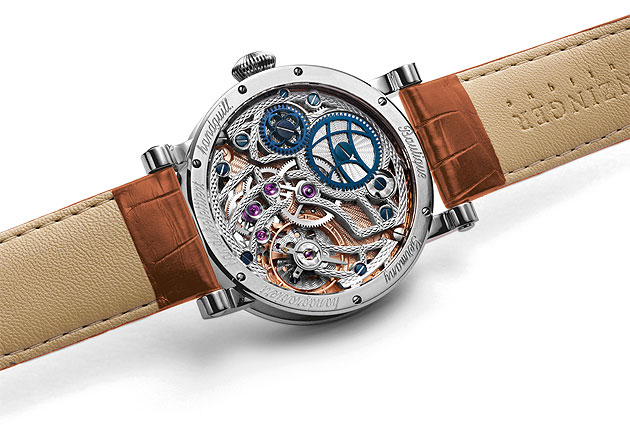 Watch makers Grieb & Benzinger present Fine Arabian Stallions Timed, a special edition Polaris Watch.