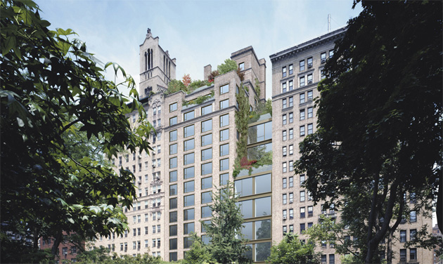 The Gramercy Park Hotel has opened its revamped roof garden, 'The Gramercy Terrace' after weeks of renovations.