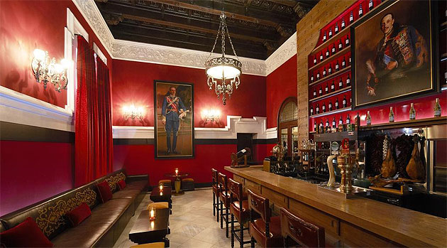Hotel Alfonso XIII - Affirming its pre-eminence among the great hotels of Europe, cherished Sevillian icon Hotel Alfonso XIII has been restored and reinvented by The Gallery, the studio within HBA's London team that is dedicated to the interior design of highly specialised bespoke projects.