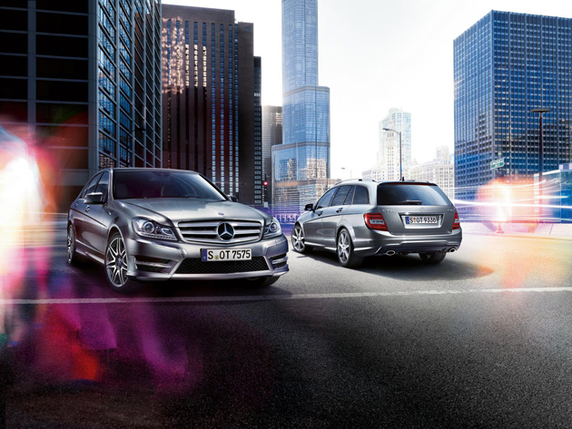 Mercedes Benz introduces a range of upgrades for its 2013 C-Class model range.