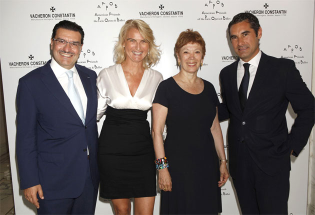 Vacheron Constantin and the American Friends of the Paris Opera & Ballet Host Luncheon in Honor of Brigitte Lefèvre.