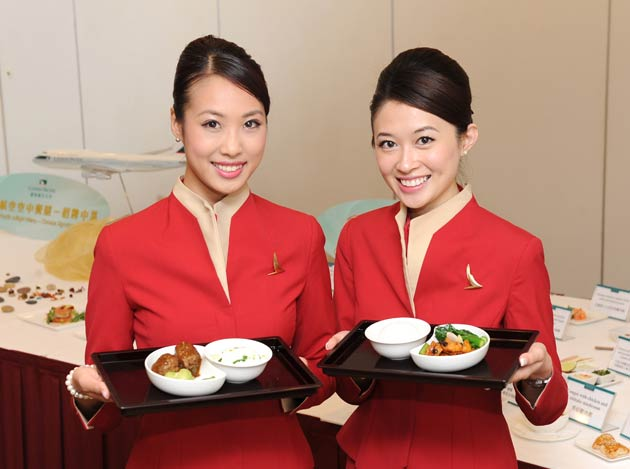 """Cathay Pacific today announced the introduction of the new """"Cathay Pacific Signature Chinese Dishes"""" on its inflight menus."""