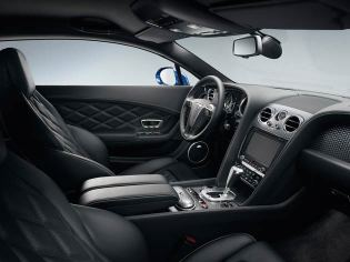Despite the GT Speed's sporting overtones, this grand tourer retains a hand-crafted interior created using only the finest natural materials. Soft, supple leathers, polished veneers and cool-touch metals combine with the meticulous craftsmanship for which Bentley is renowned to provide a cabin of exceptional quality.