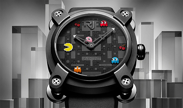 The Romain Jerome PAC MAN watch limited to four series of twenty pieces.