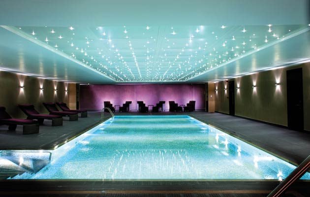 However, it came as a pleasant surprise to discover the hotel's seriously spacious Kallima Spa (a total rarity for London spas), complete with gym (external membership is available), swimming pool, whirlpool, sauna, steam room and 10 large treatment rooms.