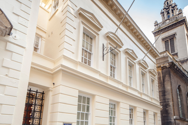 At the south end of College Hill, a quiet cobbled road just off Cannon Street in the City of London, is Whittington House, a Grade II listed stucco fronted building steeped in history.
