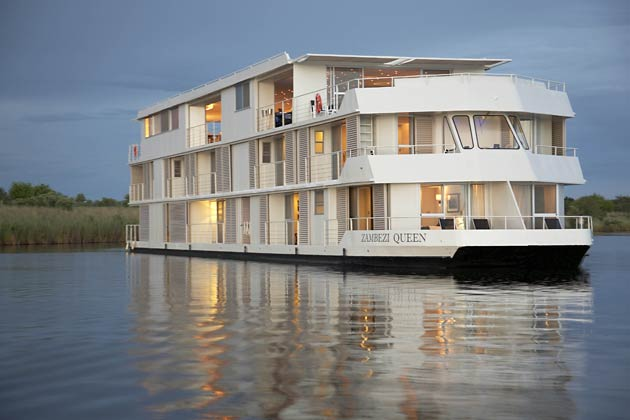All aboard the Zambezi Queen for a luxurious and environmentally conscious African River Safari.