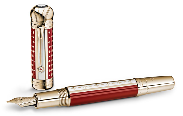 "Furthermore, Jones will receive the Montblanc Patron of Art Limited Edition 2012 Joseph II Writing Instrument (as pictured), created to celebrate the 21st Anniversary of the Awards. Joseph II, Holy Roman Emperor from 1765 to 1790, was the eldest son of Empress Maria Theresa. Like Jones, Joseph was a lover and patron of the arts, and he was known as the ""Musical King"". During his term, Joseph ended censorship of the press and theatre, and created scholarships for talented poor students, thereby allowing the establishment of schools for Jews and other religious minorities."