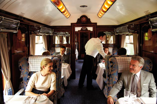 Get your glad rags out this Christmas and begin the often dreaded task of Christmas shopping by stepping aboard the sophisticated and luxurious surroundings of the British Pullman.