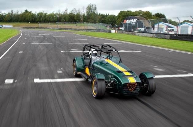"Simon Lambert, Caterham's Chief Motorsport and Technical Officer, said: ""Caterham racing just got even more interesting. As the fastest Seven we've ever built, this will provide our existing R300 racers with a real step up and a new and exciting challenge, even for experienced drivers. The R600 represents an increase in aggressiveness, although the linear power delivery of the supercharged engine makes it superbly driveable, much like the R300."""