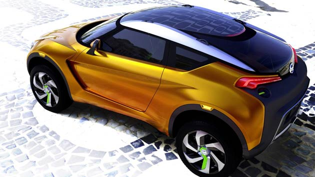 The vibrancy, colour and excitement of Brazil has been captured in Nissan EXTREM, a radical concept car aimed squarely at young (and young-at-heart) car enthusiasts keen to make a statement on the roads.