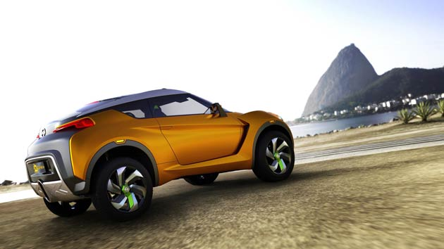 The Nissan EXTREM - The first concept car from Nissan designed specifically for Brazil