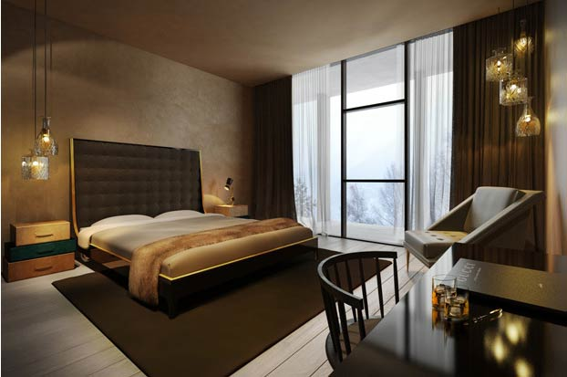 Tyrolean tradition and innovative design blend seamlessly at Zhero - Ischgl/Kappl. Opening 12 December this year, the hotel is setting out to make a bold statement by combining fashion, design, luxury and comfort under one roof.