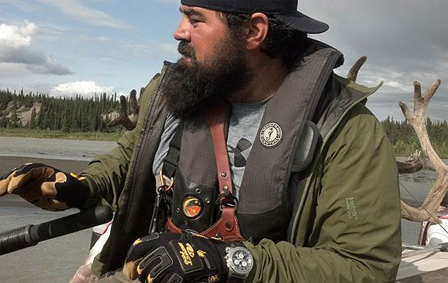A watch made more than a fashion statement when it helped save a stranded hunter's life in Alaska on August 15th. Mark Spencer was hunting grizzly bears about 120 miles northeast of Anchorage when he became stuck in the wilderness along Susitna River in the heart of the infamous Alaska Range.