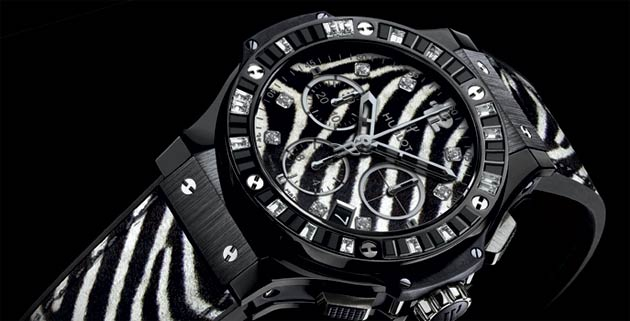 Hublot To Show Its Stripes AT SIHH 2013 With 'Zebra Bang' Timepiece.