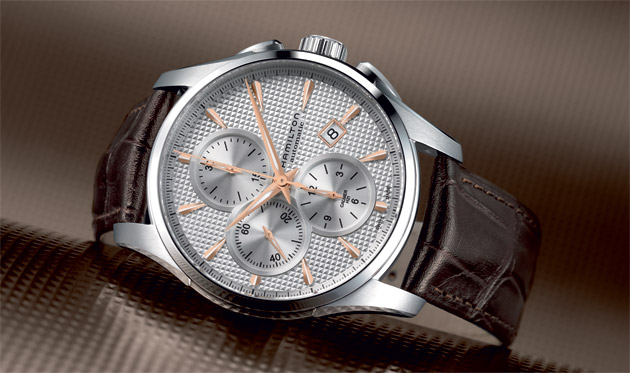 Hamilton Jazzmaster Auto Chrono - Getting into the swing of sophisticated watchmaking.