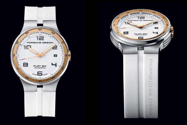 Porsche Design P'6360 Flat Six Automatic Chronograph: P'6351 Flat Six Automatic 40 mm (reference 6351.41.64.1256)