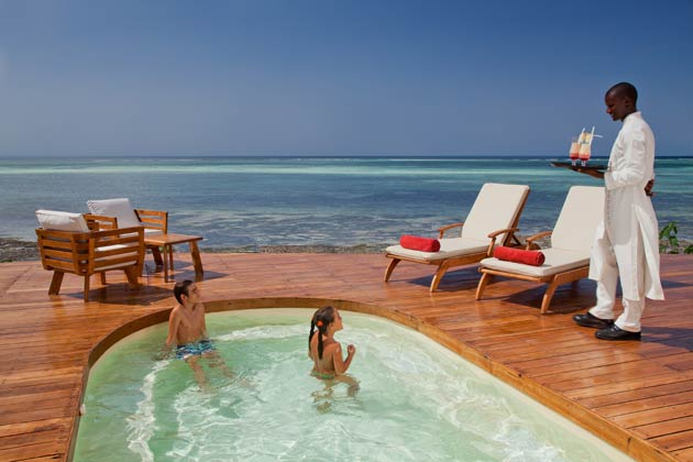 We were also impressed to know that the resort has fantastic honeymoon packages – all newlyweds receive a complimentary upgrade from half board to fully inclusive during minimum five night stays, plus a complimentary 30 minute couples massage and private dinner for two out by the poolside.