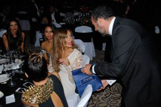 Among the vast number of notables attending the Chequered Flag Ball were British singer Leona Lewis, Olympic Gold Medal winning heptathelete Jessica Ennis, Bollywood star Chitrangda Singh, Italian golfer Matteo Manassero, legendary soul singer Jocelyn Brown, Saudi singer Mohammad Abdo, and – naturally – past and present Formula 1 drivers including Eddie Jordan and David Coulthard.