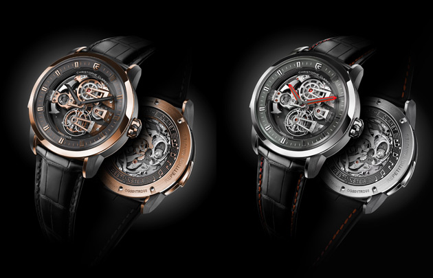 The Christophe Claret Soprano, a tourbillon minute repeater wrist watch with four cathedral gongs.