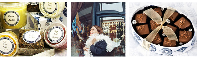 Rococco Popping Marc de Champagne Ganaches